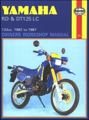 1982 - 1987 Yamaha RD125, DT125 LC Haynes Owners Workshop Manual