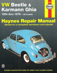 1954 - 1979 Volkswagen Beetle & Karmann Ghia Haynes Repair Manual