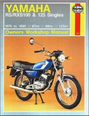 1974 - 1995 Yamaha RS100, RXS100, RS125, RXS125 Haynes Repair Manual