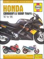1987 - 1996 Honda CBR600F1, CBR1000F Hurricane Haynes Repair Manual