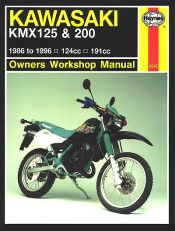1986 - 1996 Kawasaki KMX125, KMX200 Haynes Repair Manual