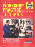 Motorcycle Workshop Practice Manual by Haynes - 2nd Edition