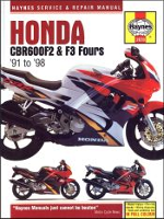 1991 - 1998 Honda CBR600F2, CBR600F3 Repair & Service Manual