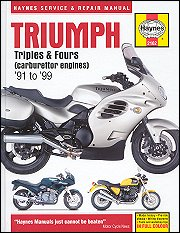 1991 - 2004 Triumph Triples, Fours Haynes Repair Manual
