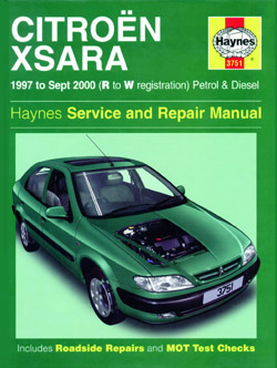 1997 - 2000 Citroen Xsara Gas and Diesel Haynes Repair Manual