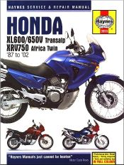 1987 - 2002 Honda Transalp, Africa Twin Haynes Repair & Service Manual