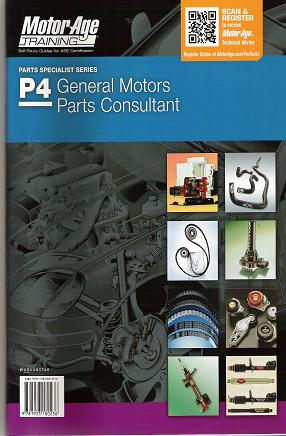 ASE Test Prep Manual -- Automobile P4, General Motors Parts Specialist