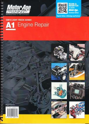 ASE Test Prep Manual -- Automobile A1, Automotive Engine Repair
