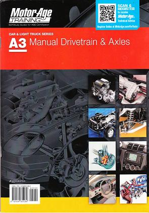 ASE Test Prep Manual -- Automobile A3, Automotive Manual Drivetrains and Axles