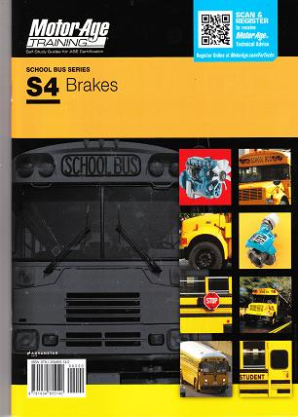 ASE Test Prep Manual -- School Bus S4: Brakes