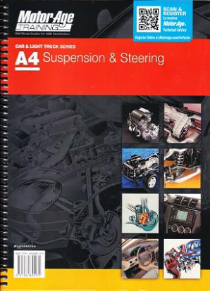 ASE Test Prep Manual -- Automobile A4, Automotive Suspension and Steering