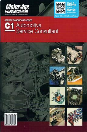 ASE Test Prep Manual -- Automobile C1, Automotive Service Consultant