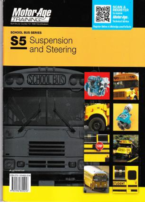 ASE Test Prep Manual -- School Bus S5: Suspension and Steering