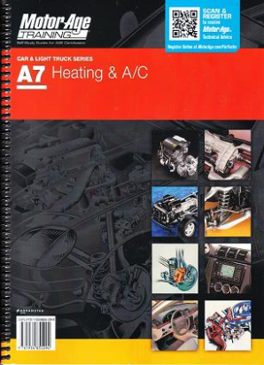 ASE Test Prep Manual -- Automobile A7, Automotive Heating and Air Conditioning
