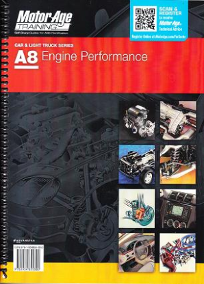 ASE Test Prep Manual -- Automobile A8, Automotive Engine Performance
