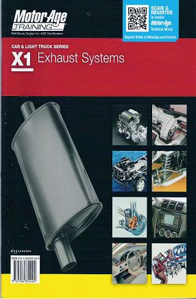 ASE Test Prep Manual -- Automobile X1, Automobile Exhaust Systems
