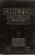 1925 - 1937 Chilton's Flat Rate & Tune-up Manual, 11th Edition