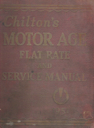 1942 - 1951 Chilton Flat Rate & Service Manual 22nd Edition