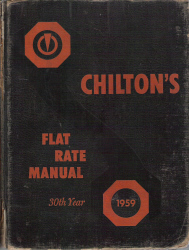 1950 - 1959 Chilton Flat Rate Manual