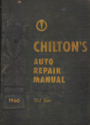 Chilton 1952 - 1960 Automotive Service Manual