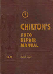 Chilton 1953 - 1961 Automotive Service Manual