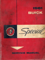1961 Buick Special Service Manual