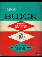 1962 Buick Body Service Manual