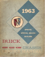 1963 Buick Chassis Service Manual