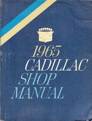 1965 Cadillac Factory Shop Manual