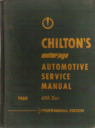 1961 - 1969 Chilton Automotive Service Manual