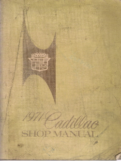 1971 Cadillac Factory Shop Manual