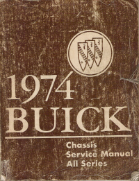 1974 Buick Chassis Service Manual, All Series