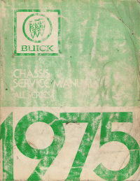 1975 Buick Chassis Service Manual