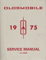 1975 Oldsmobile Factory Service Manual - All Series