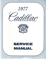 1977 Cadillac Factory Service Manual