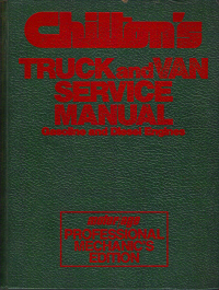 1978 - 1984 Chilton's Truck & Van Service Manual, Shop Edition