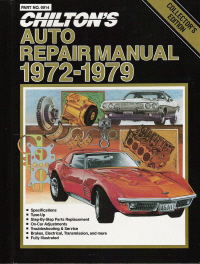 1972 - 1979 Chilton's Auto Repair Manual