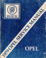 1979 Buick Opel Chassis Service Manual