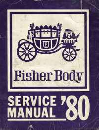 1980 General Motors Fisher Body Assembly Service Manual