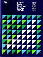 1981 Chrysler, Plymouth, Dodge Rear Wheel Drive Vehicles - Body Electrical and Engine Performance Service Manual- 2 Volume Set