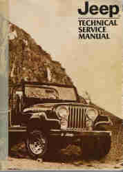 1982 Jeep Technical Service Manual
