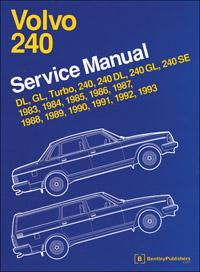 1983 - 1993 Volvo 240 Official Service Manual