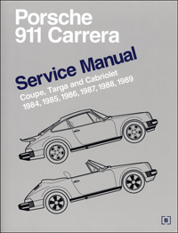 1984 - 1989 Porsche 911 Carrera Service Manual