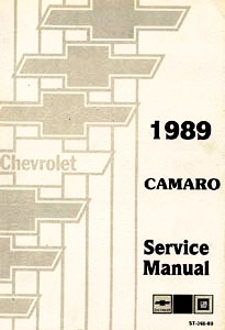 1989 Chevrolet Camaro Body, Chassis & Drivetrain Shop Manual