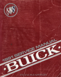 1991 Buick Roadmaster Factory Service Manual
