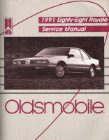 1991 Oldsmobile Eighty-Eight Royale Factory Service Manual
