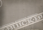 1992 Buick LeSabre Limited/Custom Electrical Systems Manual