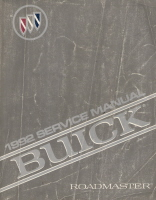 1992 Buick Roadmaster Factory Service Manual