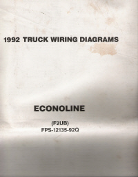 1992 Ford Econoline & Club Wagon - Wiring Diagrams