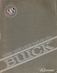 1992 Buick Riviera Factory Service Manual